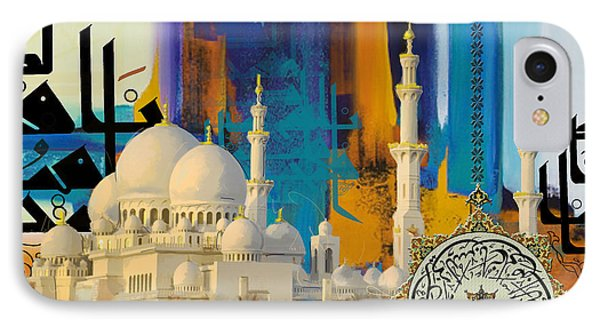Sheikh Zayed Grand Mosque IPhone Case by Corporate Art Task Force