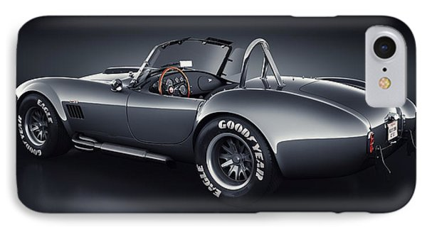 Shelby Cobra 427 - Venom IPhone Case by Marc Orphanos