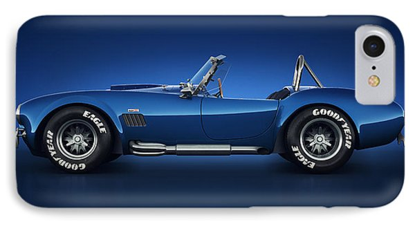 Shelby Cobra 427 - Water Snake IPhone Case by Marc Orphanos