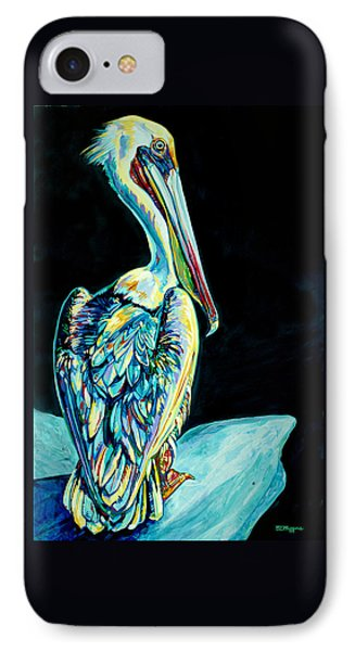 Shelter Island Pelican IPhone Case by Derrick Higgins