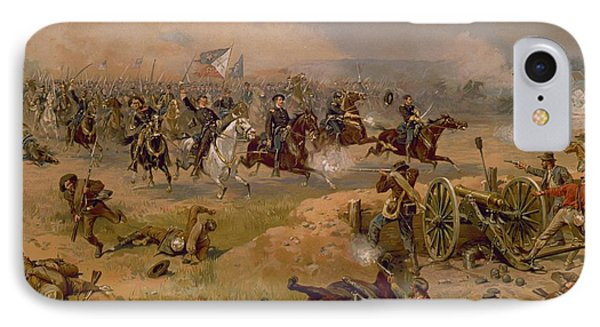 Sheridan's Final Charge At Winchester IPhone Case by American School