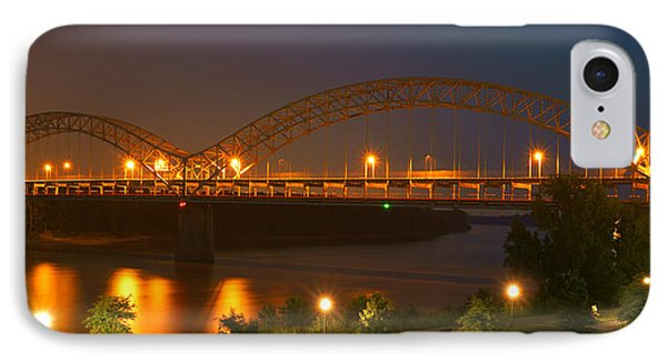 Sherman Minton Bridge - New Albany IPhone Case by Mike McGlothlen