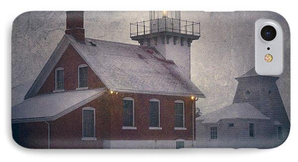 Sherwood Point Light Phone Case by Joan Carroll