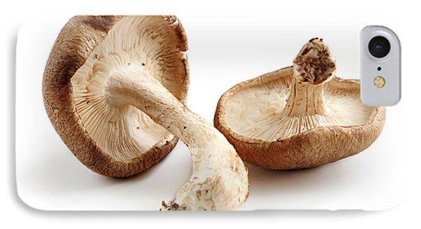 Shiitake Mushrooms IPhone 7 Case by Elena Elisseeva