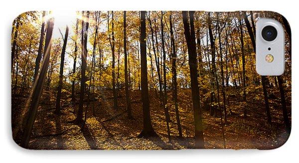 Shining Sun In The Woods Phone Case by Kamil Swiatek