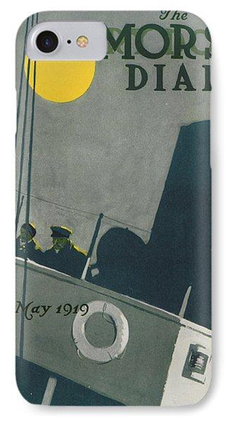 Ship At Night Phone Case by Edward Hopper