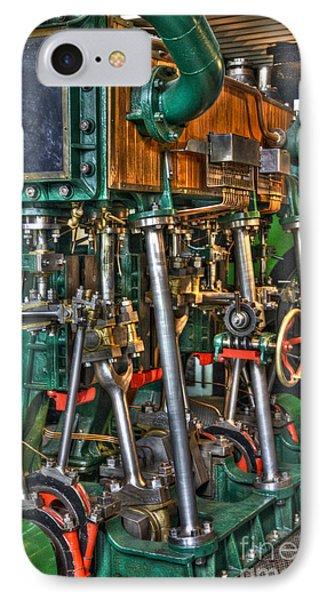 Ship Engine Phone Case by Heiko Koehrer-Wagner