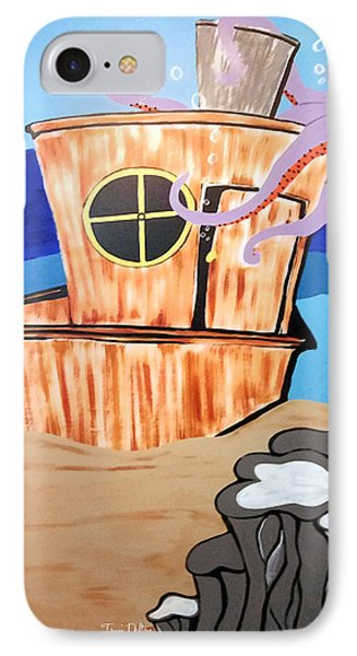 Ship Wrecked Phone Case by Tami Dalton