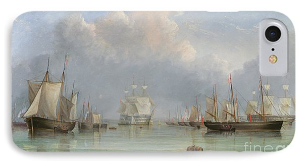 Ships Off Ryde IPhone Case by Arthur Wellington Fowles