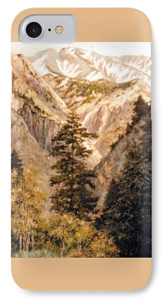 Shirley Temple Mine IPhone 7 Case by Donna Tucker