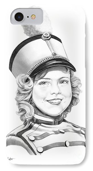 Shirley Temple IPhone Case by Murphy Elliott