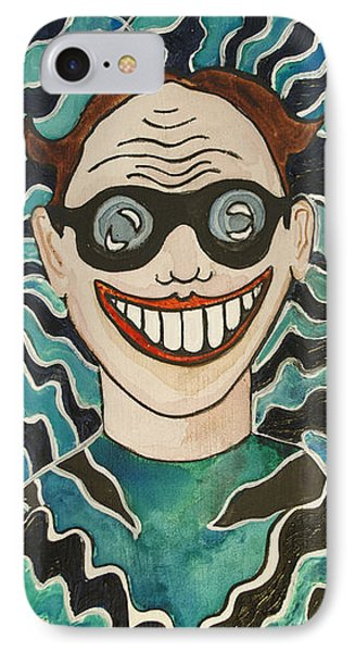 Shockwave Tillie Phone Case by Patricia Arroyo
