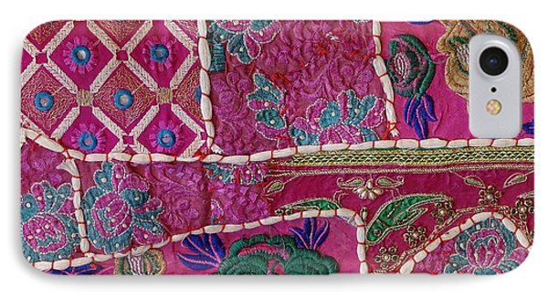 Shopping Colorful Tapestry Sale India Rajasthan Jaipur IPhone Case by Sue Jacobi