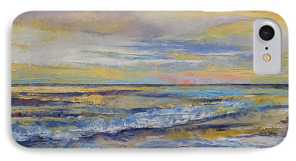 Shores Of Heaven IPhone Case by Michael Creese