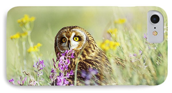 Short-eared Owl Phone Case by Thomas and Pat Leeson