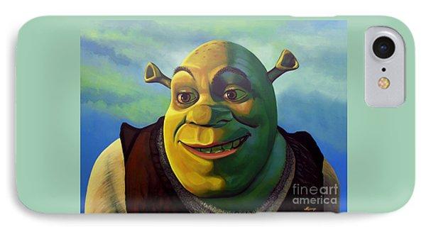 Shrek IPhone Case by Paul Meijering