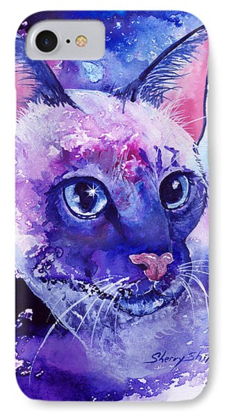 Siamese Fantasy Phone Case by Sherry Shipley