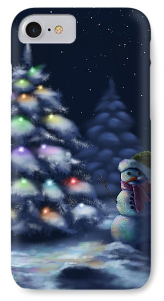 Silent Night IPhone Case by Veronica Minozzi
