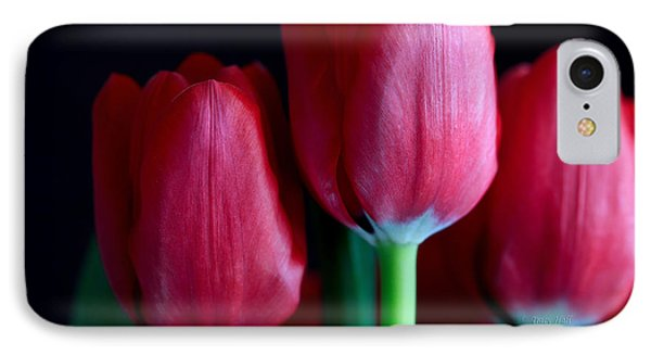 Silky Smooth Tulips Phone Case by Tracy  Hall
