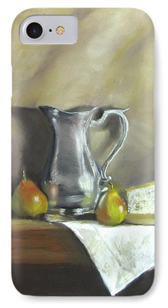 Silver Pitcher With Pears Phone Case by Jack Skinner