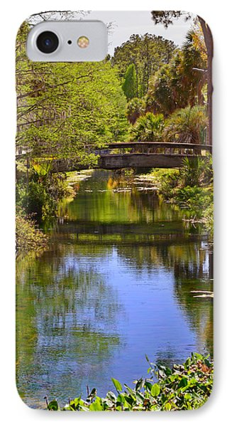 Silver Springs Florida Phone Case by Christine Till