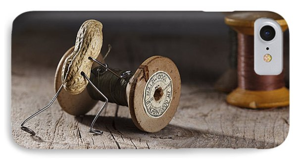 Simple Things - Rolling The Thread IPhone Case by Nailia Schwarz