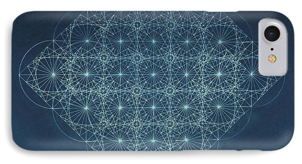Sine Cosine And Tangent Waves IPhone Case by Jason Padgett