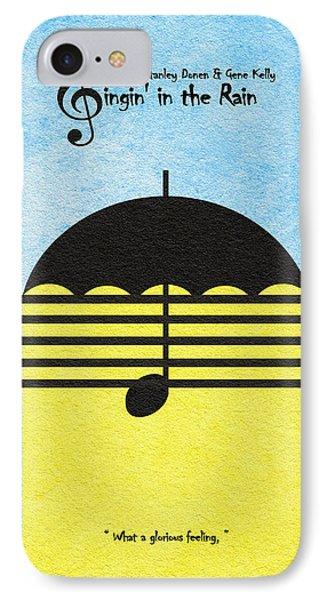 Singin' In The Rain IPhone Case by Ayse Deniz