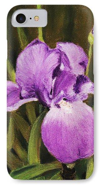Single Iris Phone Case by Anastasiya Malakhova