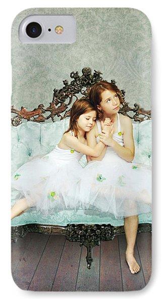 Sisters IPhone Case by Linda Lees