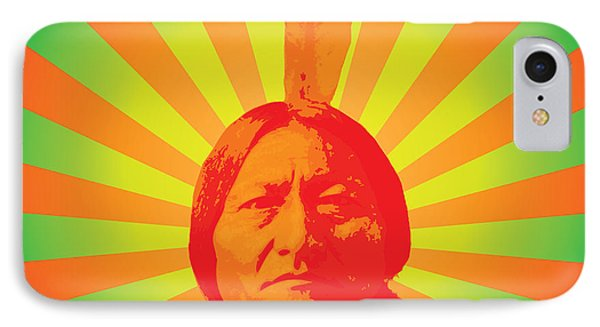 Sitting Bull IPhone Case by Gary Grayson