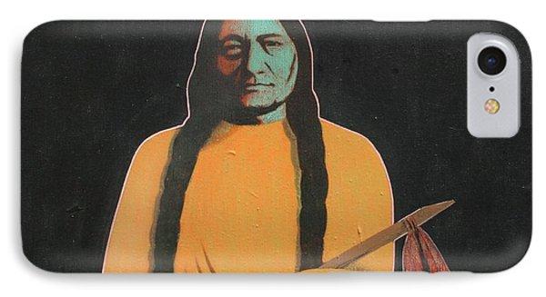 Sitting Bull Phone Case by J W Kelly