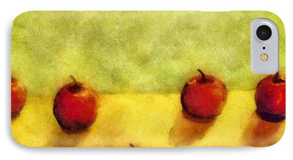 Six Apples IPhone Case by Michelle Calkins