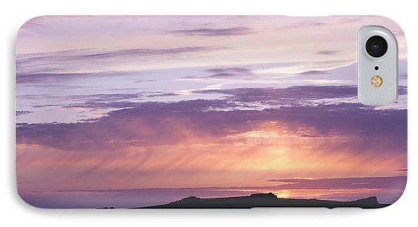 Skomer Sunset Phone Case by Anne Gilbert