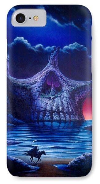 Skull Point IPhone Case by Garry Walton