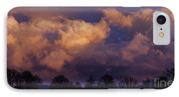 Sky Drama Phone Case by Thomas R Fletcher