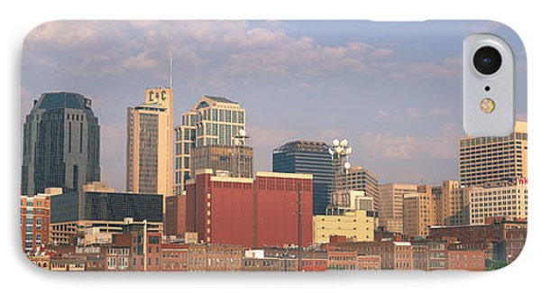 Skyline Nashville Tn IPhone Case by Panoramic Images