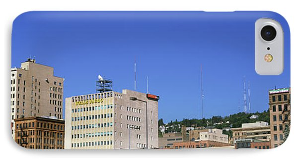 Skyscrapers In A City, Duluth IPhone Case by Panoramic Images