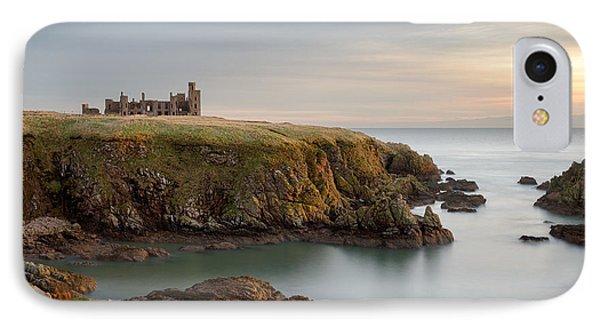 Slains Castle Sunrise IPhone Case by Dave Bowman