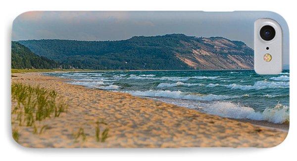 Sleeping Bear Dunes At Sunset IPhone Case by Sebastian Musial