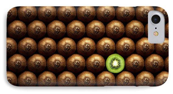 Sliced Kiwi Between Group IPhone 7 Case by Johan Swanepoel