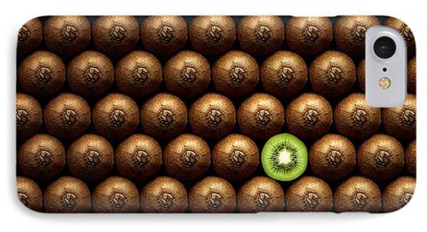 Sliced Kiwi Between Group IPhone Case by Johan Swanepoel
