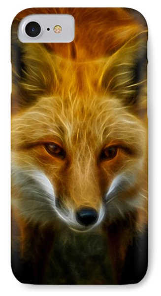 Sly Fox IPhone Case by Ernie Echols