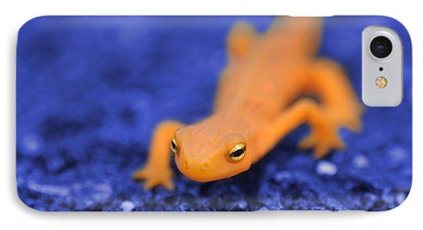 Sly Salamander IPhone 7 Case by Luke Moore