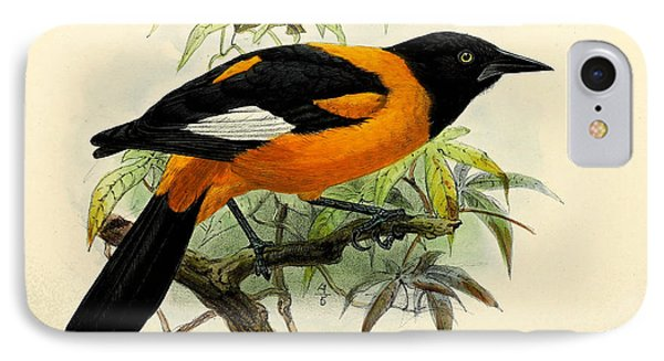 Small Oriole IPhone 7 Case by J G Keulemans