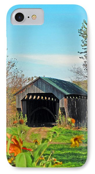 Small Private Country Bridge Phone Case by Barbara McDevitt