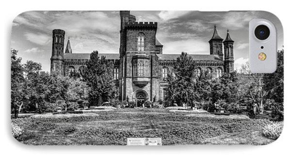 Smithsonian Castle IPhone Case by Dado Molina