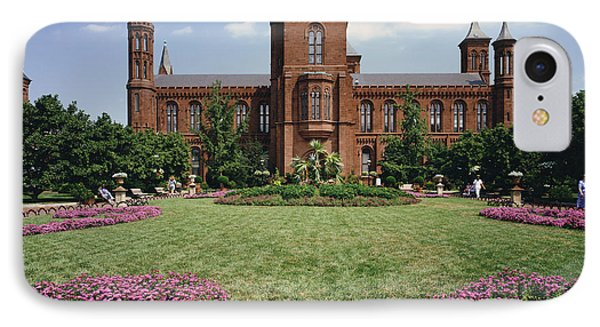 Smithsonian Institution Building IPhone 7 Case by Rafael Macia
