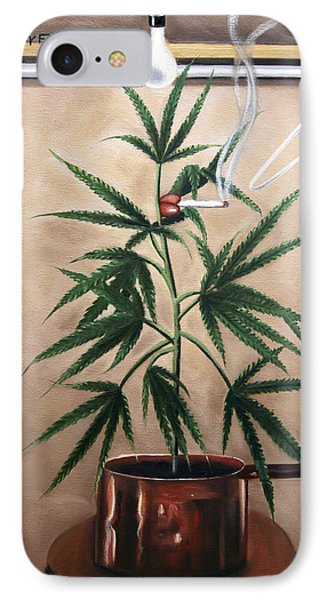Smoking Section IPhone Case by Anthony Falbo
