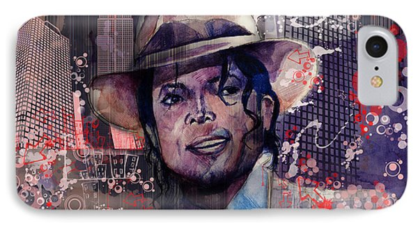Smooth Criminal IPhone Case by Bekim Art